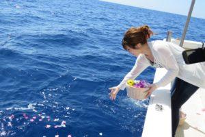 海洋散骨が一番人気